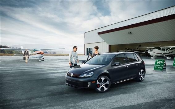 Обои Volkswagen Golf VI GTI