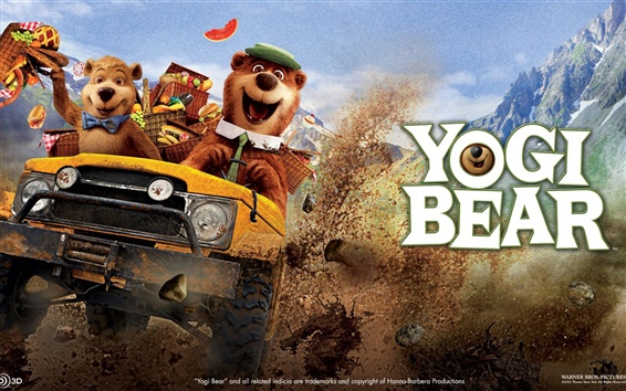 Wallpaper Yogi Bear