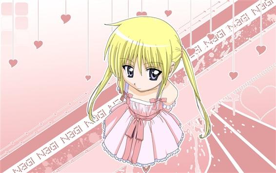 Fond d'écran Jupe Anime fille rose