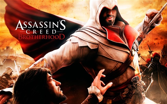 Wallpaper Assassin's Creed: Brotherhood HD