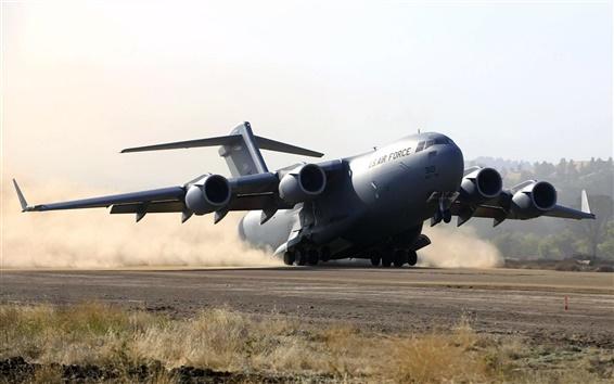 Wallpaper B-52 Emergency Landing
