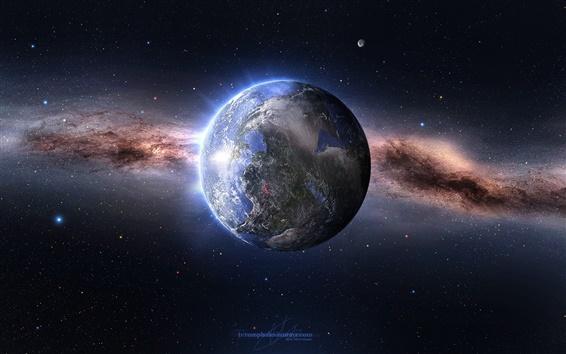 Wallpaper Billion years ago Earth