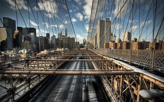 Papéis de Parede Linhas ponte rodoviária