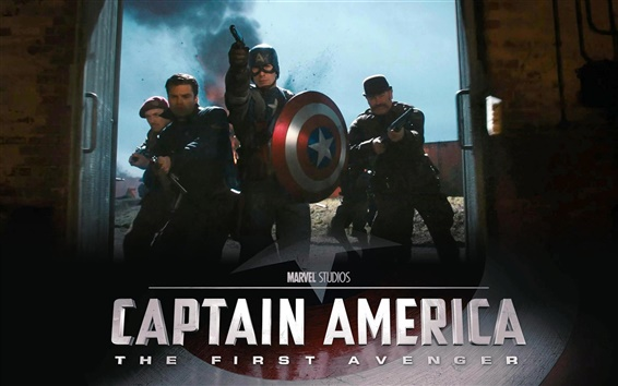 Papéis de Parede Captain America: The First Avenger HD