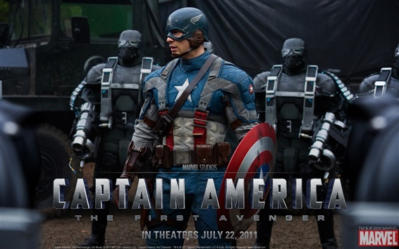 Papéis de Parede Captain America: The First Avenger