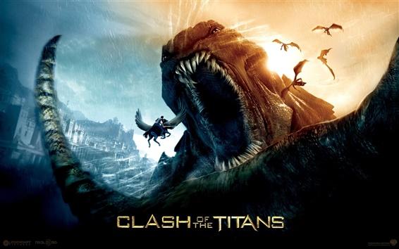 Wallpaper Clash of the Titans