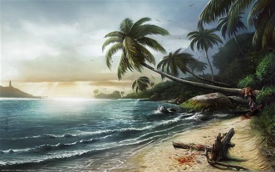 Papéis de Parede Ilha mortos