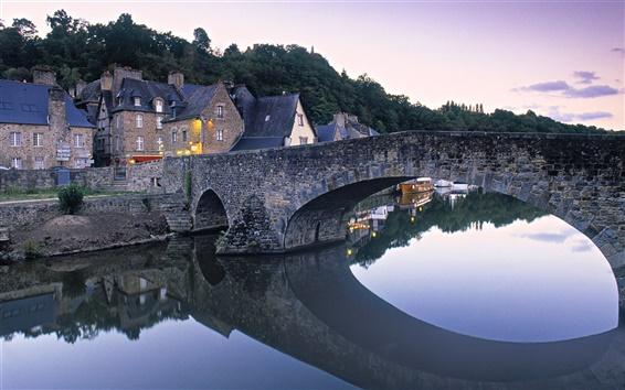 Wallpaper Dinan, Brittany, France
