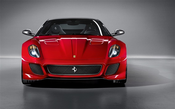 Обои Ferrari 599 GTO суперкар