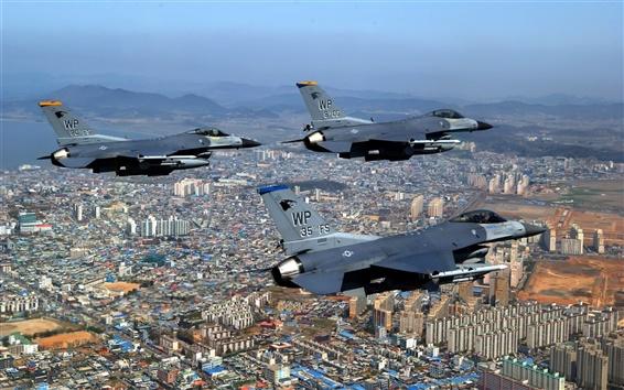 Wallpaper Fighter flight queue
