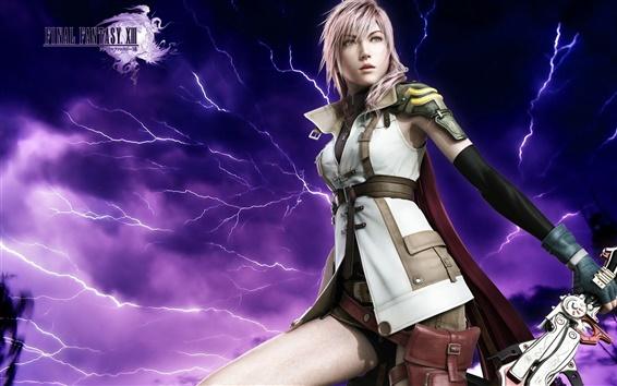 Wallpaper Final Fantasy 13 Lightning