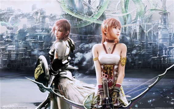 Wallpaper Final Fantasy XIII-2
