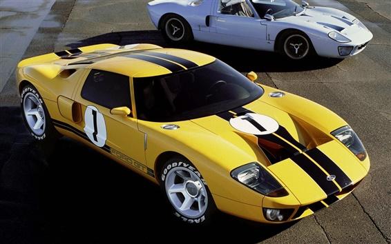 Обои Суперкар Ford GT старые и новые
