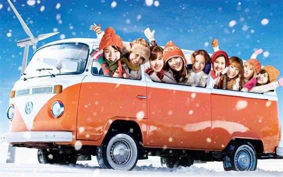 Fond d'écran Girls Generation 09
