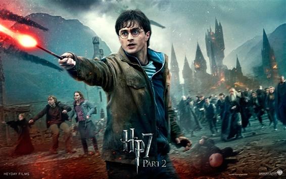 Обои HP7 Часть 2 Борьба героя
