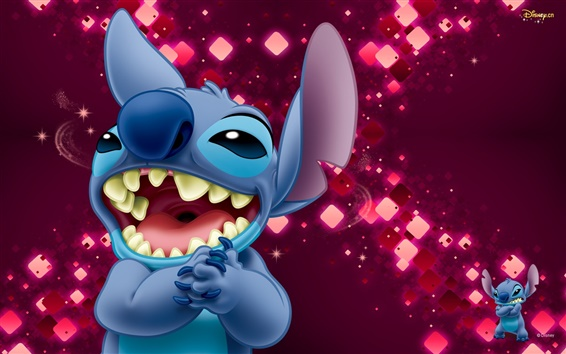 Wallpaper Laugh Stitch