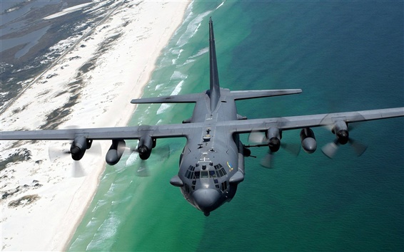 Wallpaper Lockheed AC-130H Spectre aircraft