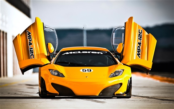 Wallpaper McLaren MP4-12C