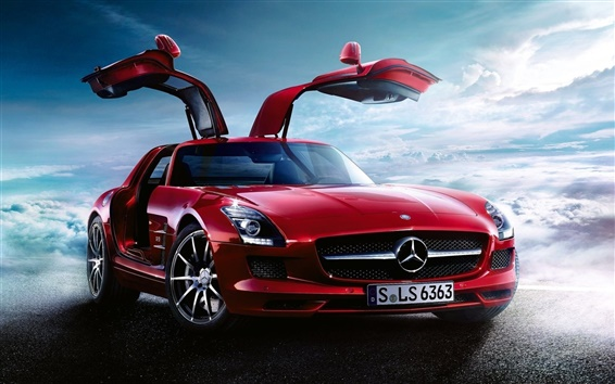 Wallpaper Mercedes-Benz SLS AMG Tuning