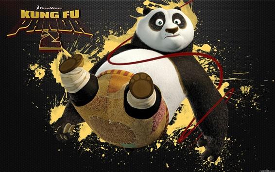 Wallpaper PO in Kung Fu Panda 2