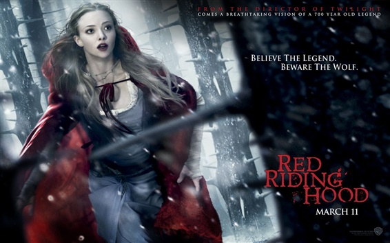 Wallpaper Red Riding Hood 2011