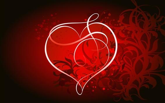Обои Романтическое сердце любовь