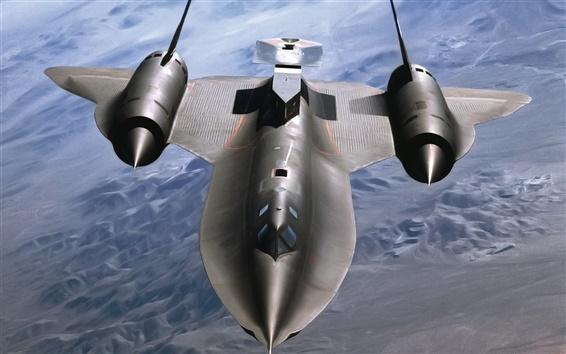 Wallpaper SR-71 Blackbird fighter