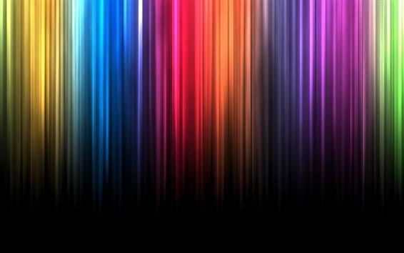 Wallpaper Spectrum bands of color lines