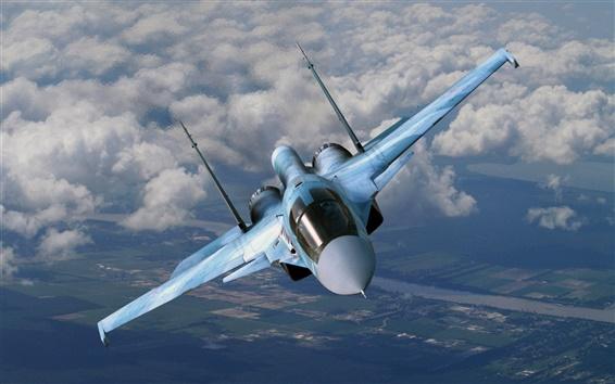 Wallpaper Su-35 Flanker-E