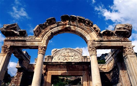 Обои Храм Адриана в Турции