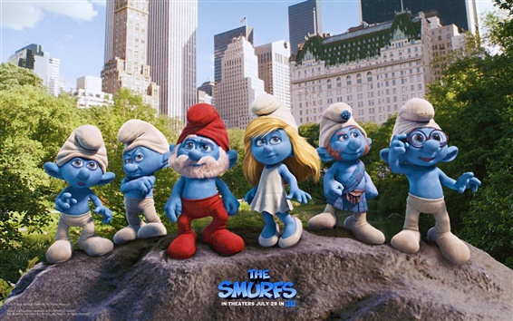 Wallpaper The Smurfs