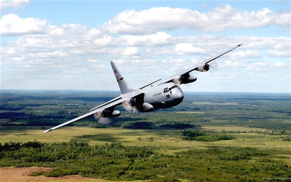 Wallpaper US air force bomber plane