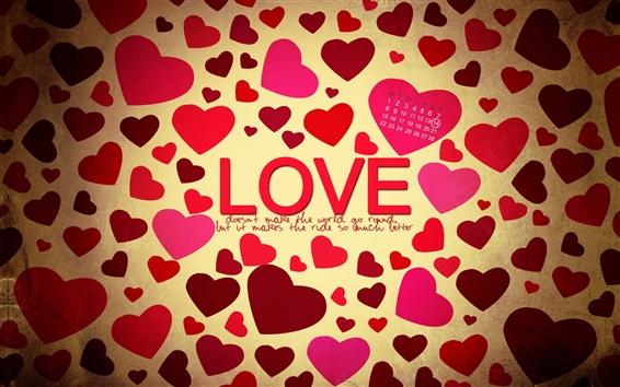 Fond d'écran Amour Saint-Valentin