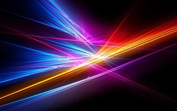 Papéis de Parede Linha de luz abstrata