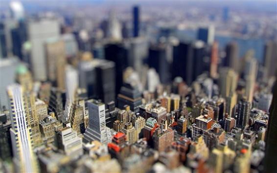 Wallpaper City Miniature photo