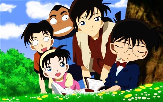 Fond d'écran détective Conan