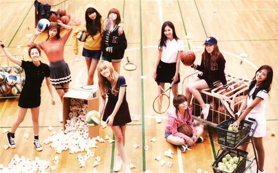 Fondos de pantalla Girls Generation 17