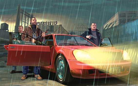 Wallpaper Grand Theft Auto IV