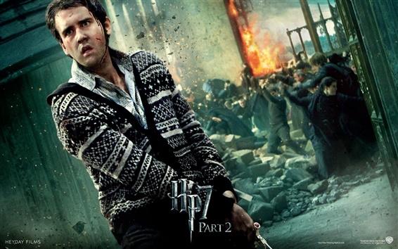 Wallpaper HP7 Part 2 Neville