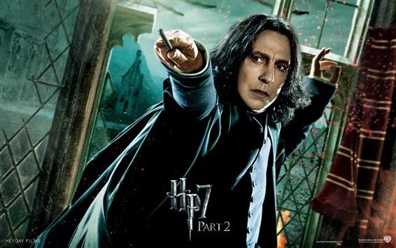 Papéis de Parede HP7 Parte 2 Snape