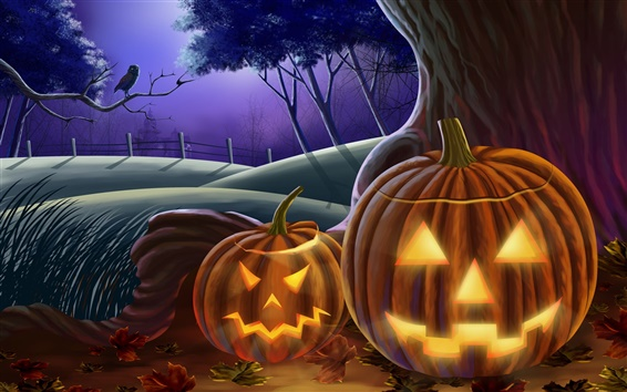 Wallpaper Happy Halloween