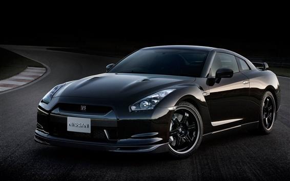 Wallpaper Nissan GT-R Spec V car