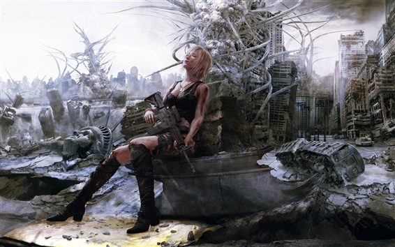 Wallpaper Parasite Eve: The 3rd Birthday