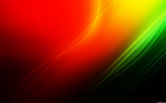 Wallpaper Red and green abstract background