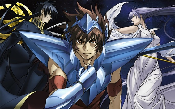 Wallpaper Saint Seiya Hades Myth