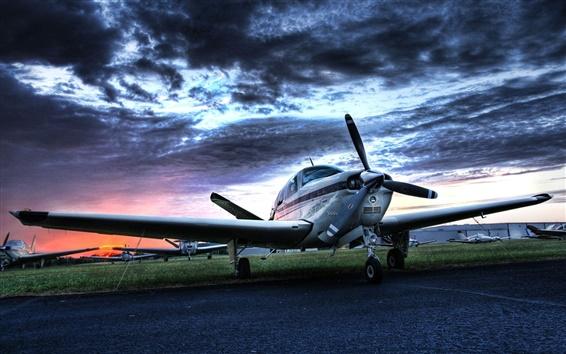 Wallpaper Small private aircraft