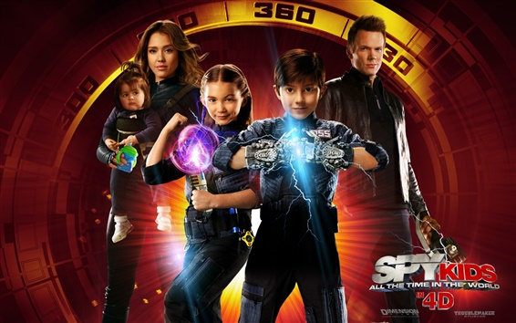 Wallpaper Spy Kids: All the Time in the World