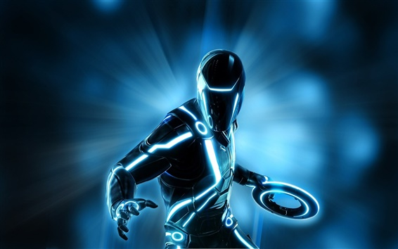 Wallpaper TRON game