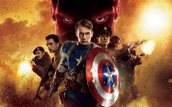 Fondos de pantalla 2011 el Capitán América