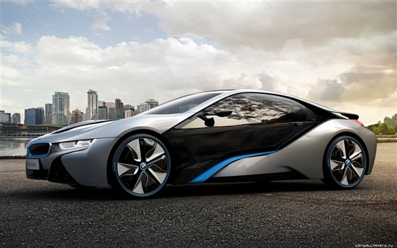 Wallpaper BMW i8 Concept 2011